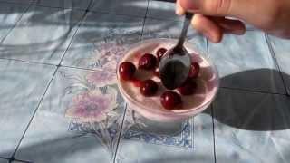 """Видео рецепт приготовления десерта """"Фруктовое суфле"""" (простые десерты)"""