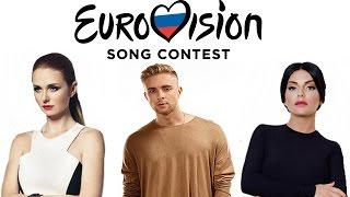 10 CANDIDATES TO REPRESENT RUSSIA AT EUROVISION 2017