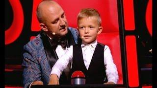 Потапенко младший пришел на шоу Голос. Дети